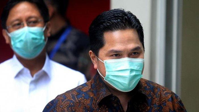 Erick Thohir Tak Beri Ampun Pegawai Kasus Test Antigen Bekas: Saya Mengutuk Keras
