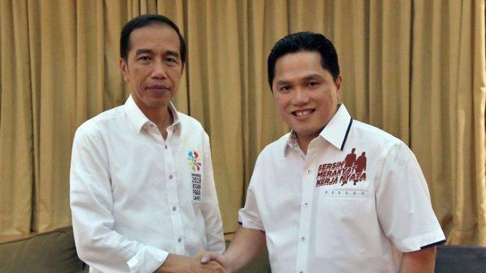 Erick Thohir Mengungkapkan Strategi Kampanye Jokowi-Ma'ruf, Apa Strateginya?