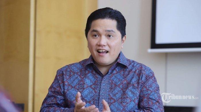 Menteri BUMN Erick Thohir Temukan50 Anak Cucu Usaha PLN dan 142 Anak Cucu UsahaPertamina
