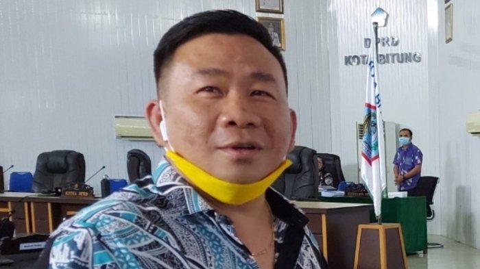 Ketua Harian Golkar Bitung Erwin Wurangian Belum Tahu Ada Isu Pergantian Ketua Golkar Sulut