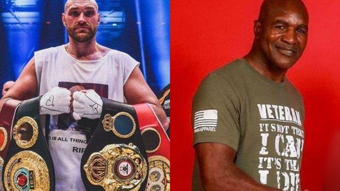 Holyfield Tentang Tyson Fury: Anda Tahu, Tyson Fury Datang dari Keluarga yang Memang Petarung