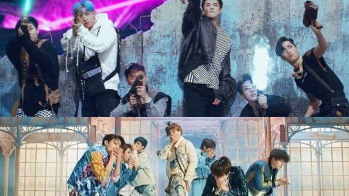 EXO Kalahkan BTS di Voting Twitter, FIFA Putuskan Putar Lagu Kedua Grup!