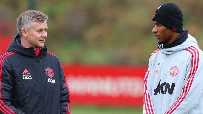 Marcus Rashford Ungkap Rasa Tak Bahagia Bersama Manchester United, tapi Puji Pelatih Solskjaer
