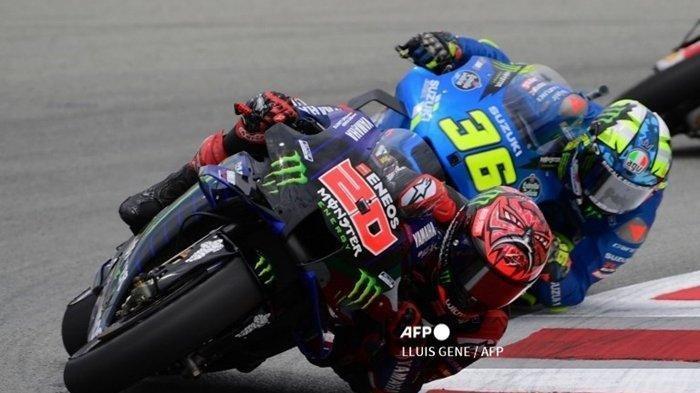 Hasil MotoGP Inggris 2021: Marc Marquez Terlibat Kecelakaan, Gagal Finish. Quartararo Juara