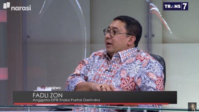 Fadli Zon  membandingkan Rezim Jokowi dan Penjajah Belanda