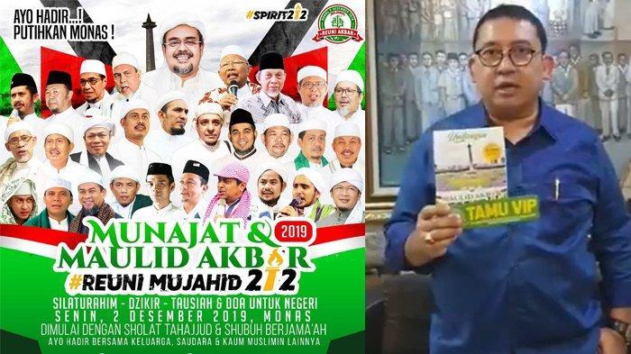 Fadli Zon Terima Undangan Reuni Mujahid 212 Bertulisan Tamu VIP: Insya Allah Saya Akan Hadir