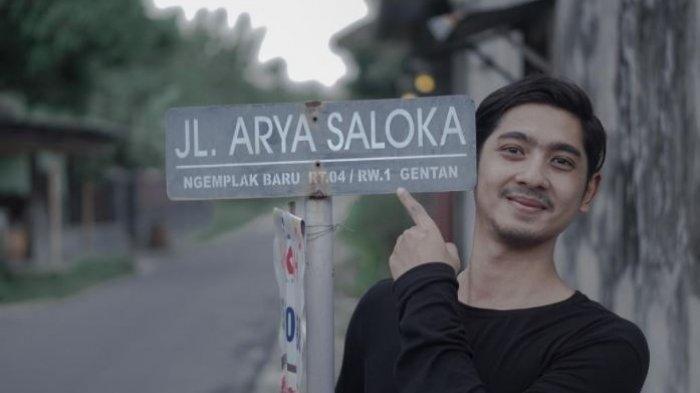 Fakta nama Jalan Arya Saloka di Sukoharjo, Jawa Tengah. Ternyata bukan terinspirasi pemeran Aldebaran Ikatan Cinta