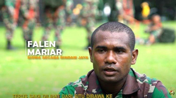 Sosok Falen Mariar, Pemain AC Milan Junior, Kini Jadi Anggota TNI