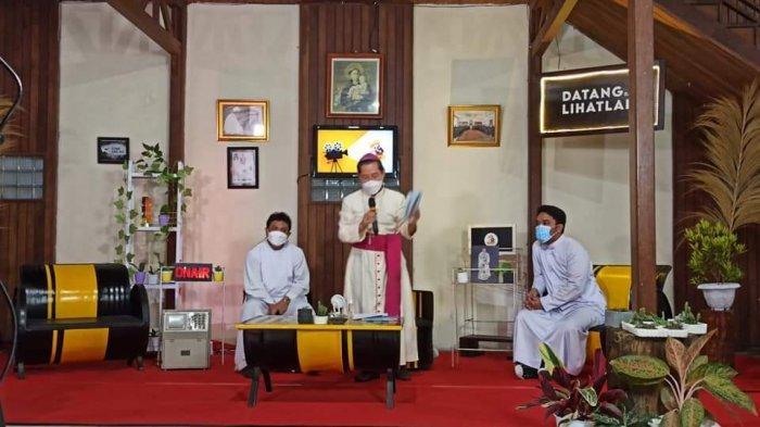 Family Gathering Komsos Se-Keuskupan Manado, Mereka Diharapkan Jadi Pewarta Iman dan Cinta Kasih