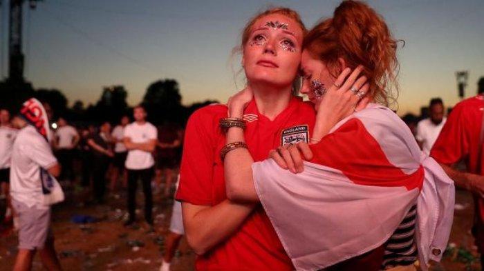 Gol Mandzukic Kalahkan Inggris, Suporter, Perdana Menteri hingga Pangeran William Bersedih