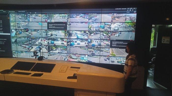 Titik-titik Lokasi Kamera Tilang Elektronik di Manado, Pelanggaran Terpantau di Ruang Command Center