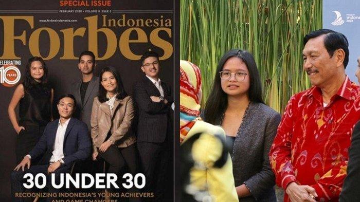 Faye Hasian Simanjuntak, cucu Menko Luhut Binsar Pandjaitan. Masuk jajaran <a href='https://manado.tribunnews.com/tag/forbes' title='Forbes'>Forbes</a> Under 30.