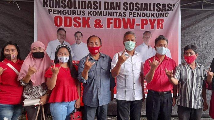 FDW-PYR Konsolidasi di Tatapaan, Berbagi Kasih dengan Warga Berkebutuhan Khusus