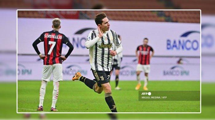 Federico Chiesa Sukses Matikan Bek Sayap Terbaik Dunia, Laga Juventus Vs AC Milan, Ini Rahasianya