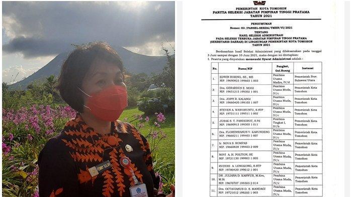 Hasil Seleksi Administrasi Calon Sekkot Tomohon Diumumkan, 11 Pejabat Melaju, Satu Gugur