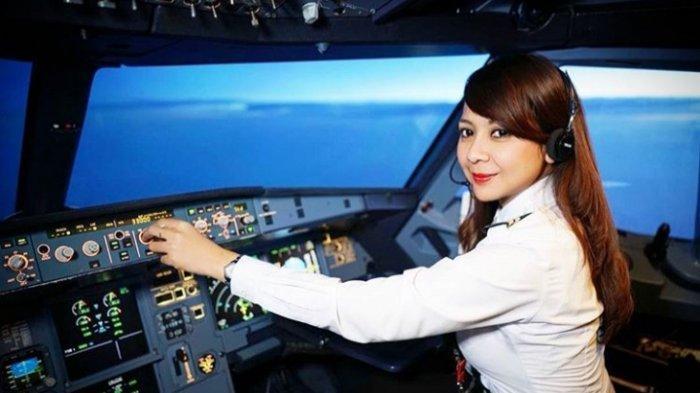 Feranita Gusnaedy, Pilot Cantik yang Masih Jomblo, Ini Tipe Pria Idamannya