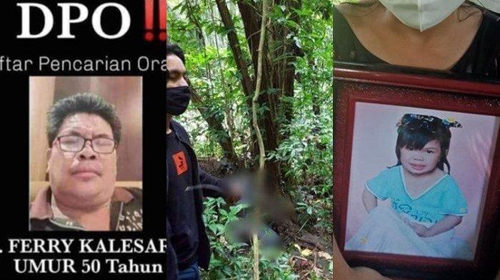 Mayat Diduga Ferry Kalesaran Pembunuh dan Perudapaksa Bocah 12 Tahun Ditemukan Membusuk di Hutan