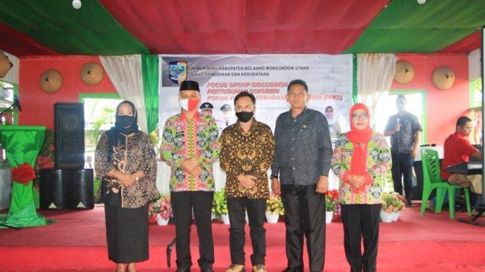Gandeng Tokoh Masyarakat-Budayawan, Dikbud Bolmut Gelar Kegiatan FGD Pelestarian Budaya Lokal