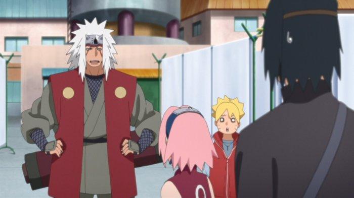 FilmBoruto Episode 136, Sasuke Sulit Jawab Pertanyaan Sakura