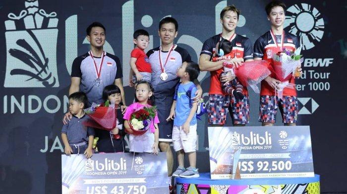 Indonesia Kirim 17 Wakilnya Meneruskan Destinasi Turnamen ke Japan Open 2019, Marcus/Kevin Unggulan