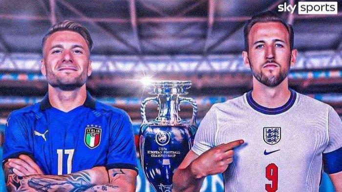 Nonton Final Euro 2020 Italia vs Inggris di Telepon Genggam, Ini Linkya