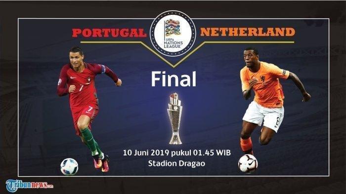 Hasil Akhir Final UEFA Nations League, Portugal Menang Tipis Atas Belanda, CR7 Absen Sumbang Gol