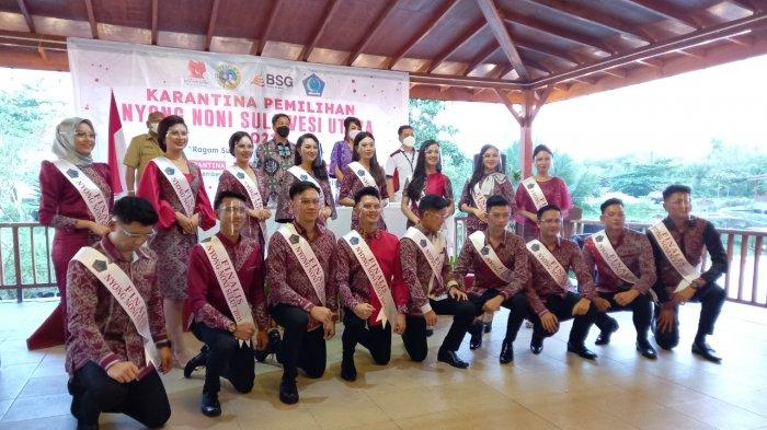 Finalis Nyong Noni Sulawesi Utara (Sulut) mulai dikarantinai Selasa (14/9/2021).