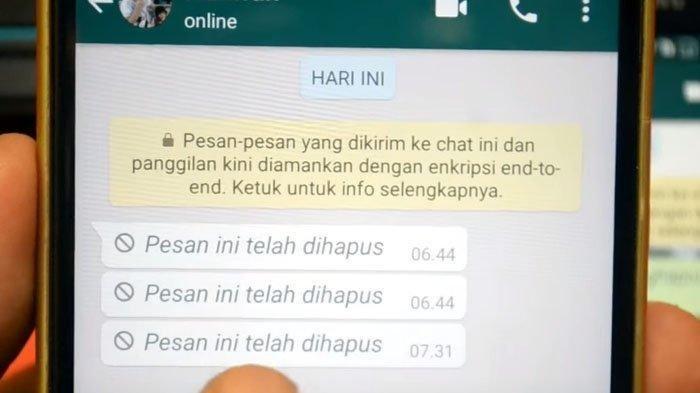 5 Fitur WhatsApp Tak Banyak Orang Tahu, Bisa Lihat Pesan WA yang Sudah Dihapus