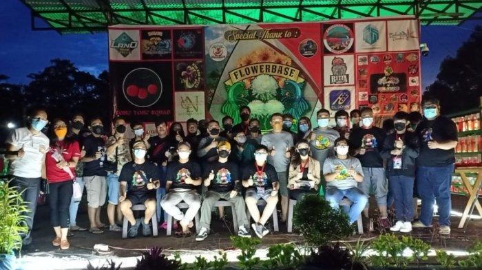 Kontes Ikan Cupang Sukses,Jilat Betta Team Raih Poin Tertinggi, 3M Betta Best of Show