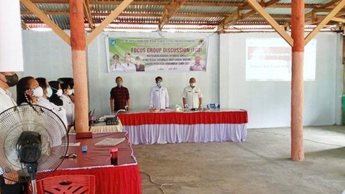 DLH Bolmong Gelar FGD Bahas Penyusunan DIKPLHD Tahun 2021