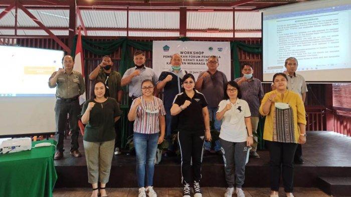 DLH Minahasa Utara Motori Pembentukan Taman Kehati Kaki Dian