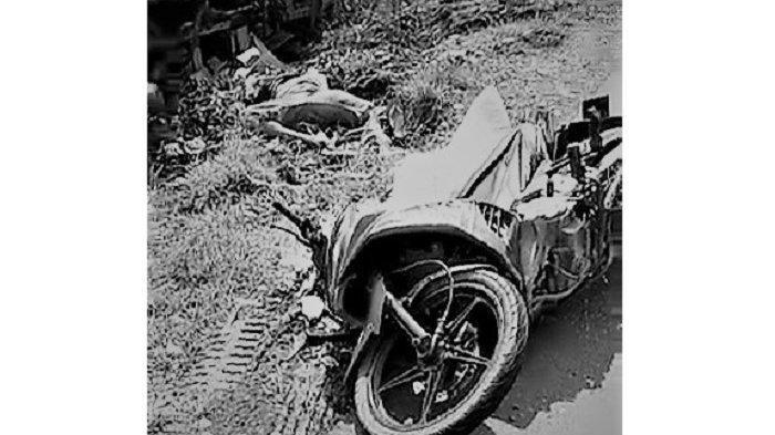 Kecelakaan Maut Tadi Sore, Pengendara Motor Tewas Tertabrak Truk, Korban Tergeletak Tanpa Kepala