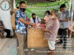 31 PKM di Buku Tengah Minahasa Tenggara Terima BLT Tahan 4