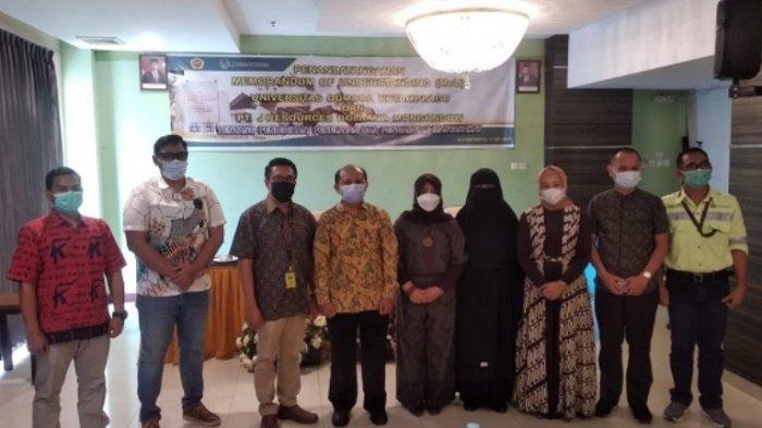 PT JRBM dan Universitas Dumoga Kotamabagu Saling Support di Bidang Pendidikan