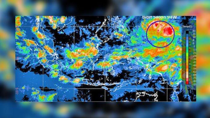 WASPADA Siklon Tropis 94W, BNPB Minta 30 Provinsi Ini untuk Siap Siaga, Berikut Daftarnya