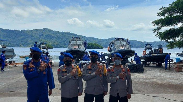 Diresmikan Kapolda Sulut, Ini Arti Nama 4 Kapal Baru Ditpolairud Polda Sulut