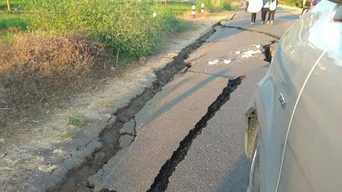 Foto Ilustrasi Gempa Bumi. Terbaru gempa bumi Sabtu (13/2/21) di Lampung.