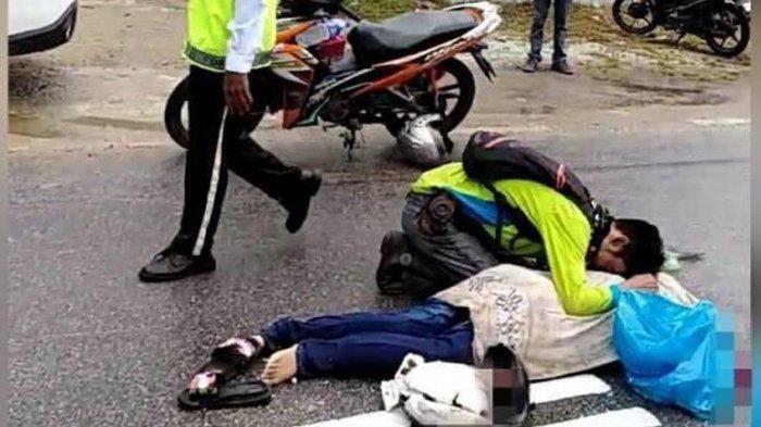 Kecelakaan Maut Motor vs Mobil, Pemotor Tewas Usai Bersenggolan, Satu Pengendara Melarikan Diri