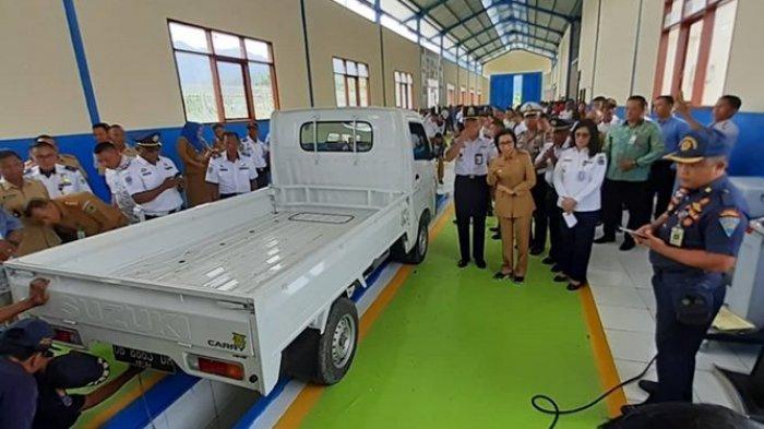 UPT Pengujian Kendaraan Bermotor di Bolmong Terus Beri Kontribusi PAD bagi Daerah