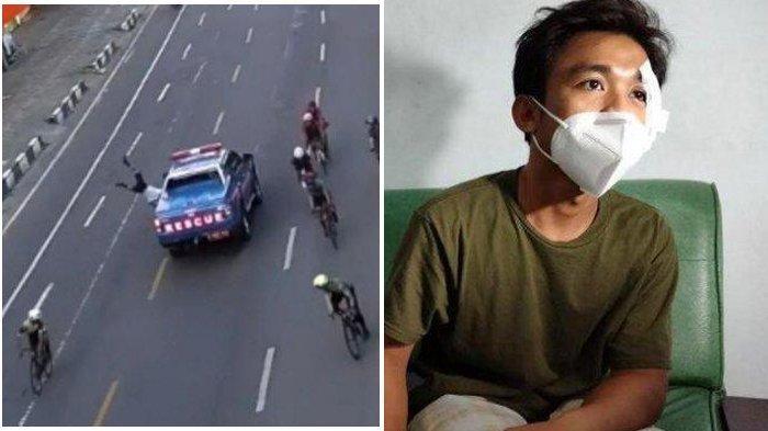 Kecelakaan di Makassar Viral, Mobil Rescue Tabrak Pesepeda, Begini Kondisi Korban