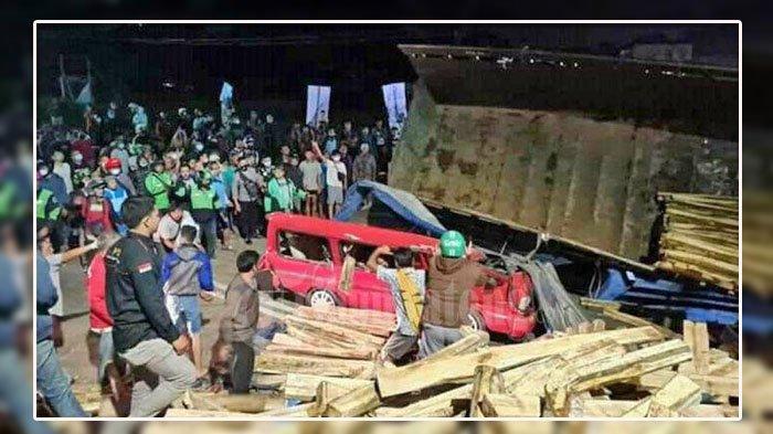 LENGKAP Daftar Nama-nama Korban Kecelakaan Tadi Pagi, Truk Tabrak Suzuki Carry dan Daihatsu Zebra