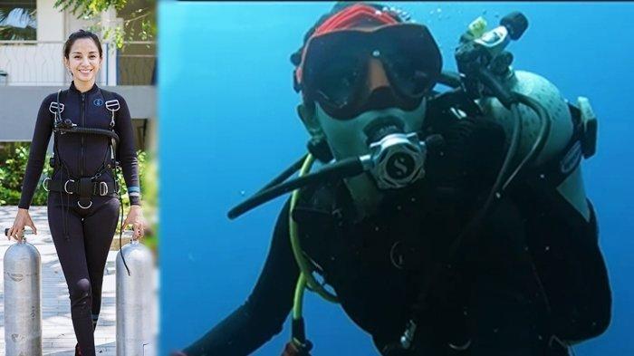 Sosok Kirana Larasati, Artis yang Hobi Menyelam, Sering Bagikan Hasil Pemotretan di Dalam Laut