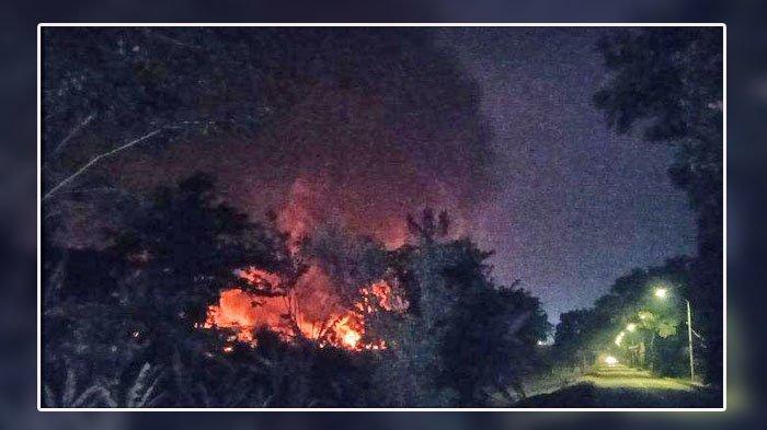 Tengah Malam Warga Demo Protes Bau Gas & Minyak Lalu Ledakan Terjadi, Kilang Pertamina Terbakar
