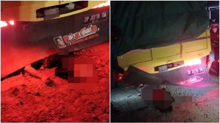 Kecelakaan Maut Tadi Malam, Anak Kepala Dusun Tewas, Jalan Berlubang Sebabkan Korban Terlindas Truk