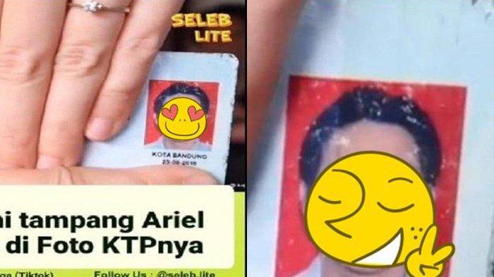 POTRET Ariel Noah di KTP dan SIM, Netizen Akui Eks Luna Maya Ganteng dan Sebut Mirip Aktor Korea