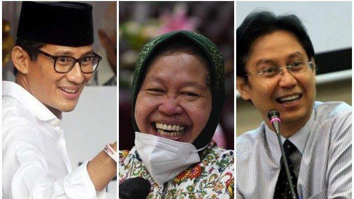 Foto menteri Jokowi yang baru