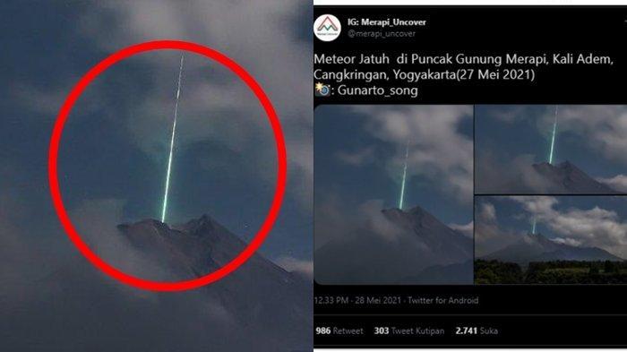 Apa Itu Meteor & Hujan Meteor? Fenomena Antariksa yang Viral Diduga Terjadi di Puncak Gunung Merapi