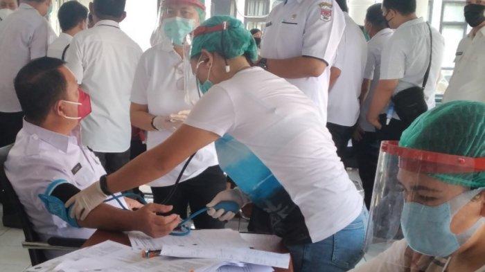 Dinas Kesehatan Minahasa Selatan Terima 5 Ribu Dosis Vaksin Covid-19 untuk Lansia