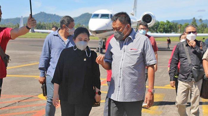Ini Agenda Puan Maharani di Manado Sulut, Disambut Olly Dondokambey dan Steven Kandouw