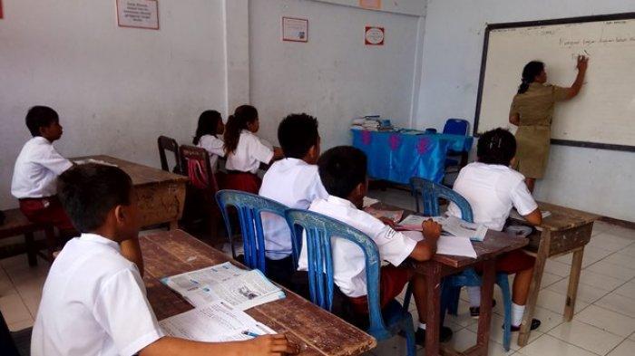 Hari Ini Sekolah di 104 Kabupaten/Kota Diperbolehkan Belajar di Sekolah, di Sulut Ada 2 Daerah